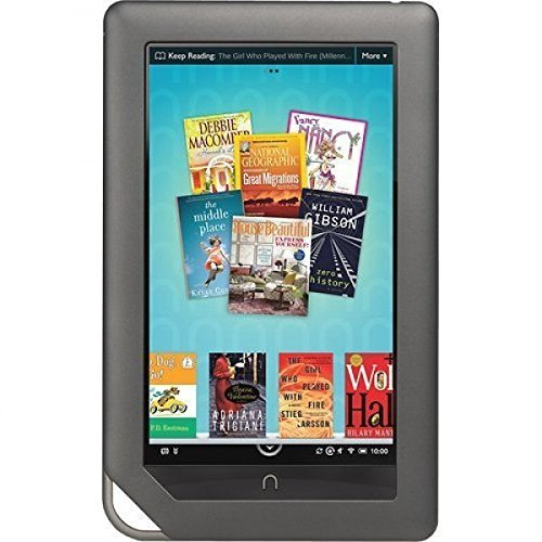 Barnes & Noble Nook Color 8GB Touchscreen 7 Tablet, WiFi Tablet eBook Reader - Android - 1 GHz processor w/ Expandable Memory and Extra-long Battery Life BNRV200-8GB (Certified Refurbished)