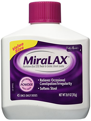 MiraLAX Laxative Powder - 1 Bottle, 45 Daily Doses