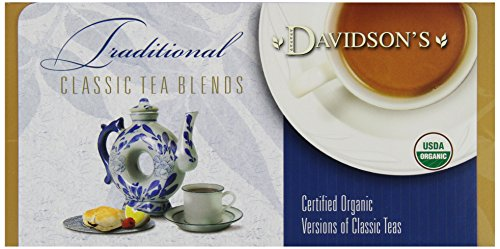 Davidson's Tea Single Serve Darjeeling, 100-Count Tea Bags,