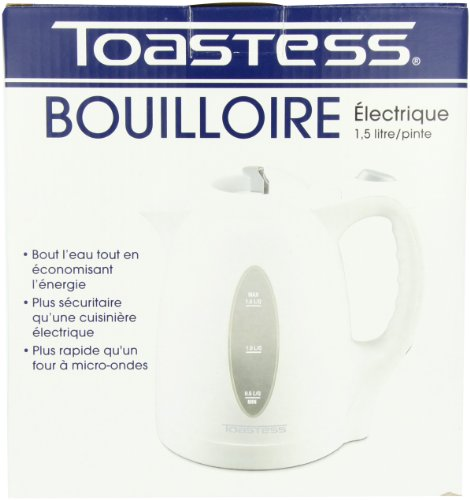 Toastess Electric Jug Kettle, White