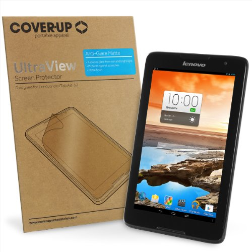 Cover-Up UltraView Anti-Glare Matte Screen Protector for Lenovo IdeaTab A8 (A8-50) Tablet