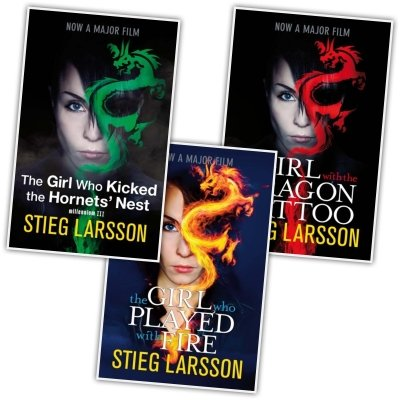Stieg Larsson Collection, Millennium Trilogy: The Girl with the Dragon Tattoo / The Girl Who Kicked the Hornets' Nest / The Girl Who Played With Fire