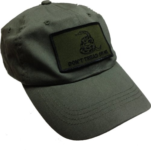 MADE IN USA Don't Tread On Me Gadsden Cotton Ball Cap Hat