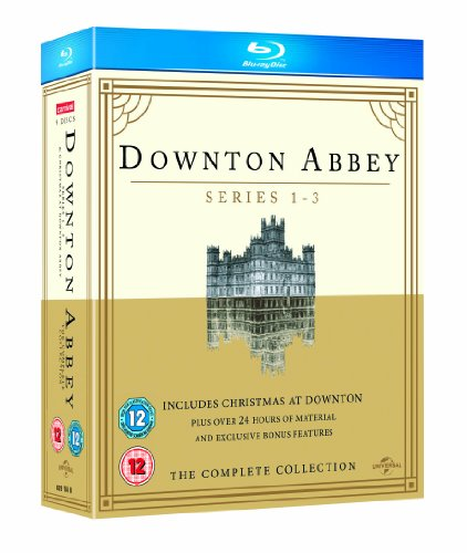 Downton Abbey - Series 1-3 / Christmas at Downton Abbey 2011 [Blu-ray] [2010]