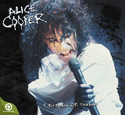 Alice Cooper 2010 Wall Calendar