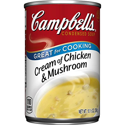 Campbell's Cream of Chicken & Mushroom Soup, 10.5 Ounce