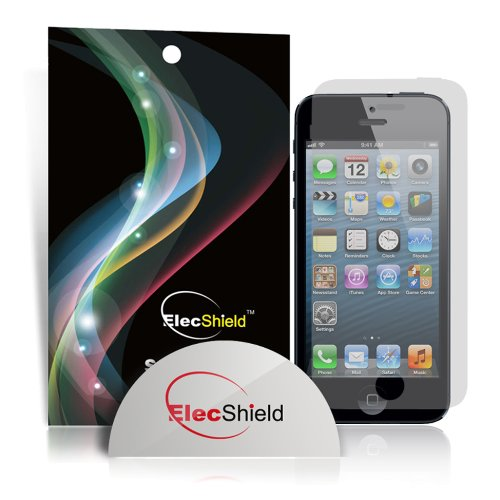 ElecShield Premium Screen Protector For Apple iPhone 5 / 5S /5C Front Only - Pack of 6 - Ultra Clear