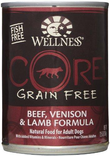 Wellness Core Grain Free Beef, Venison & Lamb Formula - 12x12.5 oz