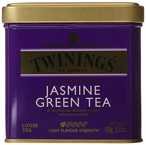 Twinings Jasmine Green Tea, Loose Tea, 3.53 Ounce(Packaging may vary)