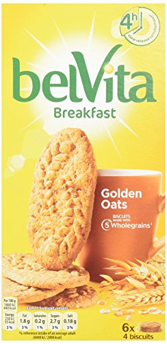 Belvita Breakfast Biscuit Crunchy Oats 300 g (Pack of 10)