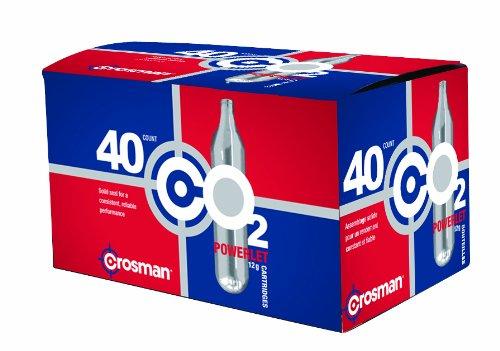 Crosman 12g Powerlet CO2 cartridges