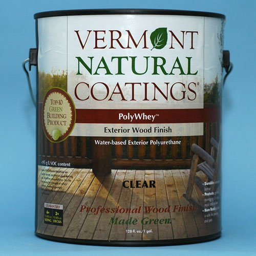 Vermont Natural Coatings PolyWhey EXTERIOR - Caspian Clear - Gallon