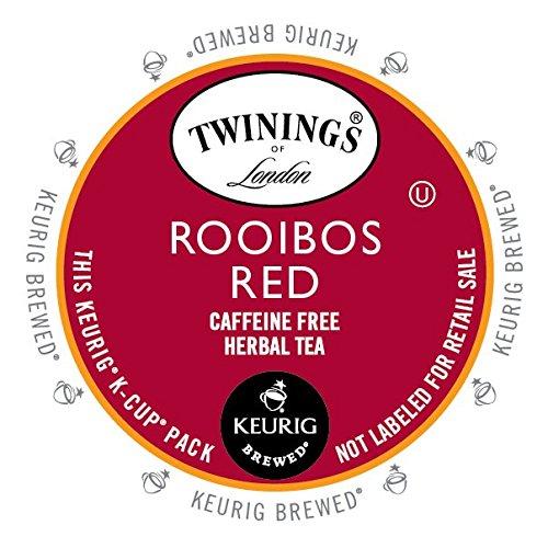 Twinings Rooibos Tea K-Cups, 24 Count