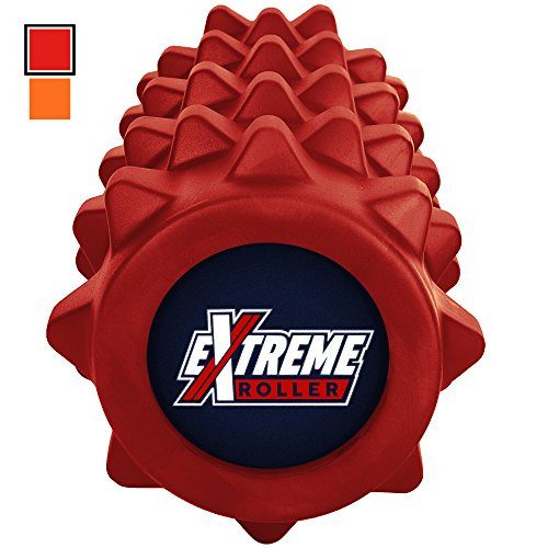 Extreme Muscle Foam Roller ? High Density Grid Provides Massage For Tight Muscles - Exercises & Massages Back, IT Bands, Legs & Arms - For Pilates, CrossFit, Yoga, Running, Physical Therapy & Sports ...