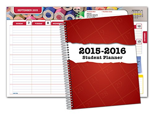 Dated Secondary Matrix Planner 7 x 9 for Academic Year 2016-2017