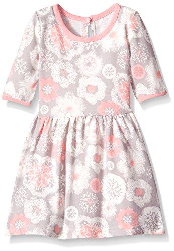 Marmellata Baby-Girls Snowflake Knit Dress