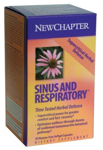 New Chapter Supercritical Sinus & Respiratory, 30 Softgels