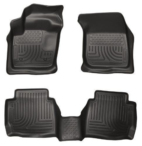 Husky Liners 99751 WeatherBeater Black Front and 2nd Seat Floor Liner