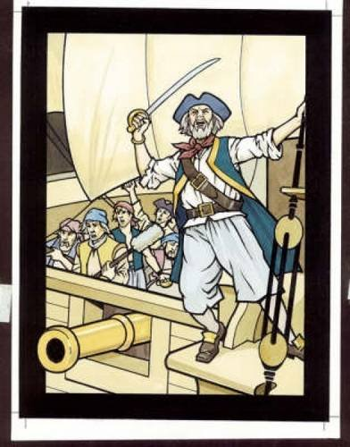 Pirates Stained Glass Coloring Book (Dover Stained Glass Coloring Book)
