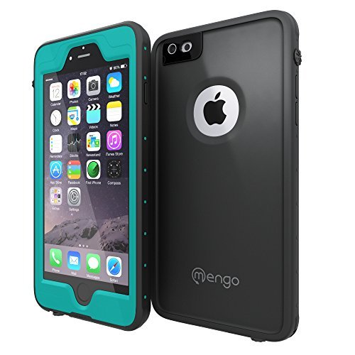Waterproof iPhone 6S/6 PLUS Case, Mengo Aqua Armor [Thin & Light Weight] Shockproof, Dustproof, Waterproof Case for iPhone 6 - Teal (Will NOT fit the smaller iPhone 6S/6 4.7 Inch)
