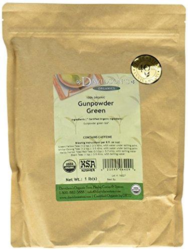 Davidson's Tea Bulk, Gunpowder Green, 1 Pound