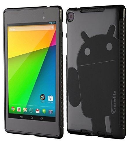 Nexus 7 FHD (2013) Case, Cruzerlite Androidified A2 TPU Case Compatible for New Nexus 7 FHD (2013) - Black