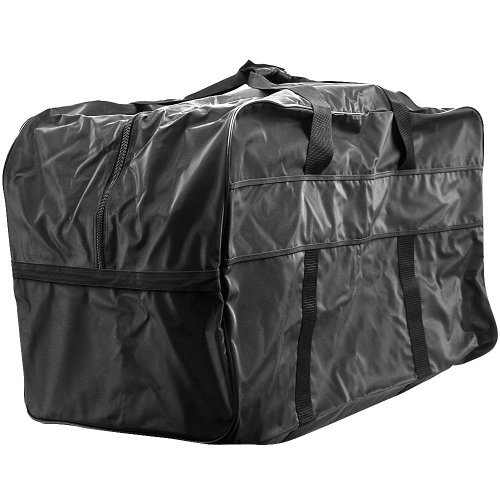 Trademark Huge Game Sports Equipment Bag - Great for All Sports Duffel Bag, Black, X-Large
