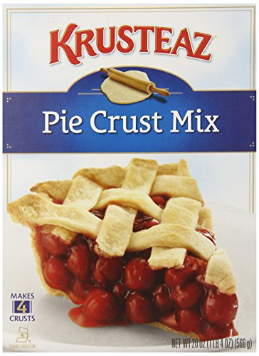 Krusteaz Pie Crust Mix, 20-Ounce Boxes (Pack of 12)