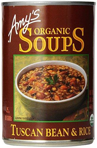 Amy's Organic Soups, Tuscan Bean & Rice, 14.1 Ounce