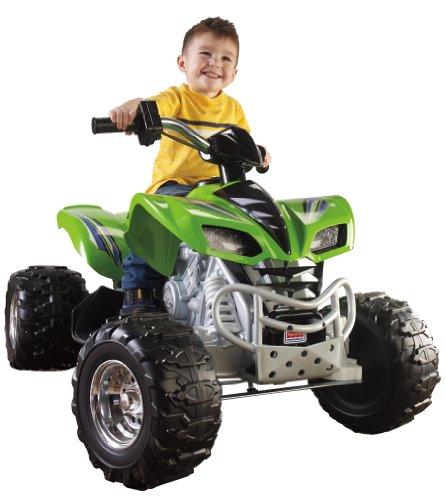 Fisher-Price Power Wheels Green Kawasaki KFX