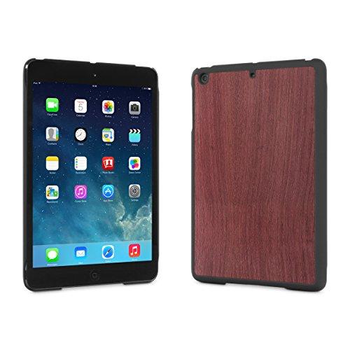 Cover-Up #WoodBack Real Wood Case for iPad mini 3 / iPad mini 2 (Retina Display) - Purpleheart