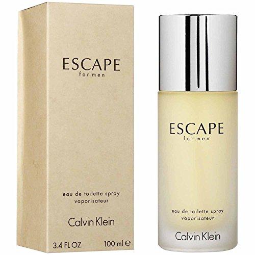 Escape by Calvin Klein for Men, Eau De Toilette Spray, 3.4 Ounce