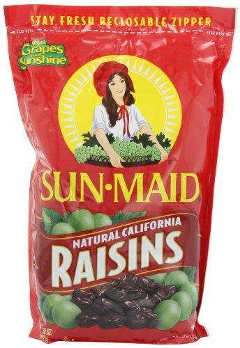 Sun Maid Natural California Raisins, 32-Ounce (Pack of 4)