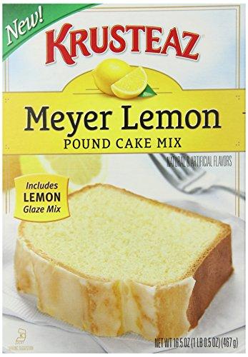 Krusteaz Meyer Lemon Pound Cake Reviews