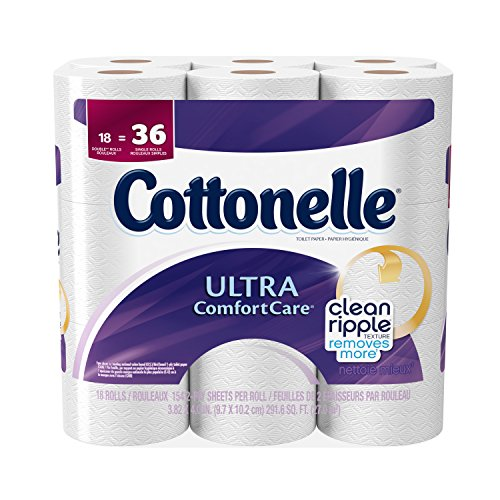 Cottonelle Ultra Comfort Care Toilet Paper, 18 Pack