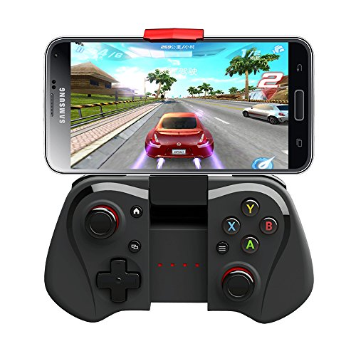 Wireless Gamepad, Megadream® Bluetooth 3.0 Joystick Controller For Android Samsung Galaxy S6 Edge S5 S4 Note 5 4 HTC One Sony Xperia Tablet Smartphone & Android Mini PC TV BOX Support Windows XP 8 7
