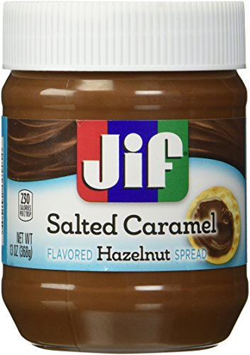 Jif Salted Caramel Flavored Hazelnut Spread, 13 oz. (Pack of 3)