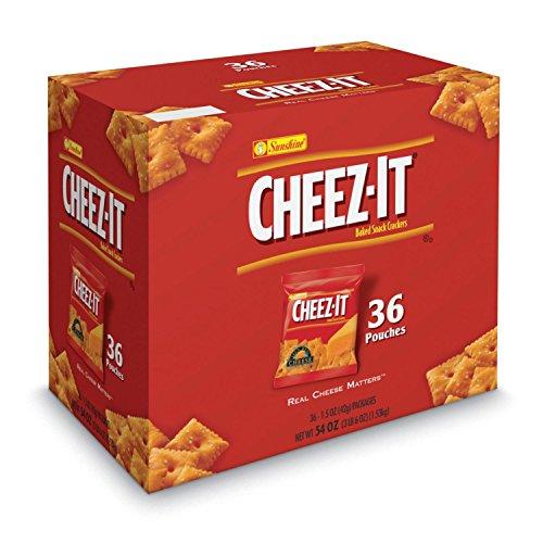 Sunshine Cheez-it Crackers, 1.5oz. (36ct) - SCS