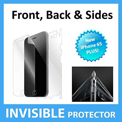 NEW iPhone 6S Plus FULL Body INVISIBLE Screen Protector Film (Front & Back included) Military Grade Protection Exclusive to ACE CASE