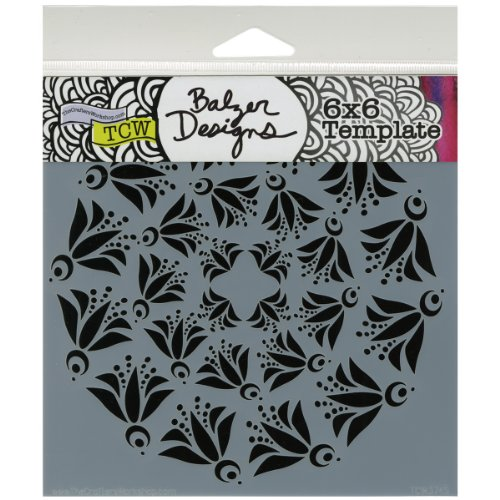 Crafter's Workshop Templates 6X6-Flying Bird Doily