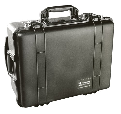 Pelican 1560-001-110 Waterproof Case without Foam (Black)
