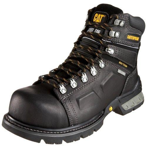 Caterpillar Men's Endure 6 Superduty Waterproof Steel-Toe Work Boot