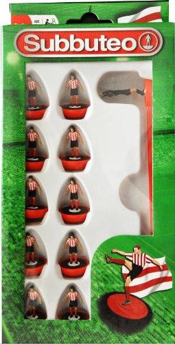 Paul Lamond Subbuteo Football Team Set (Red/ White)