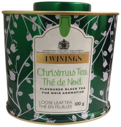 Twinings Christmas Tea Tin, 100gm
