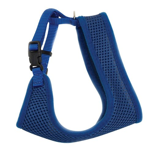 Coastal Pet -Comfort Soft Adjustable Mesh Cat Harness - Blue - 14-16 girth
