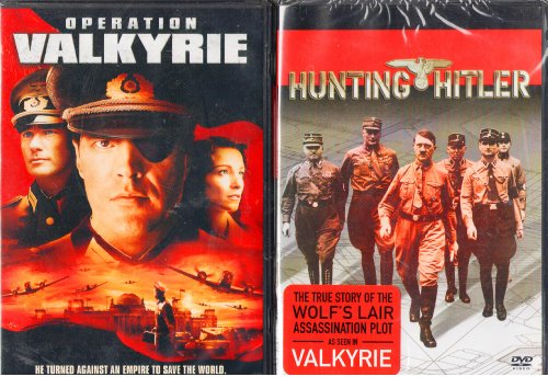 Valkyrie The Movie, the History Channel Hunting Hitler the True Story of Operation Valkyrie : 2 Pack