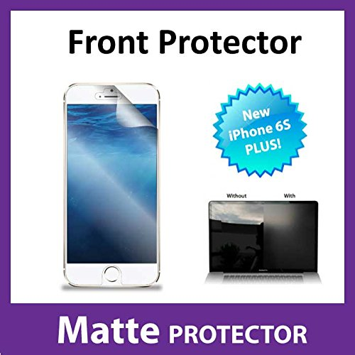 NEW iPhone 6S Plus MATTE Anti Glare Front Screen Protector Film Military Grade Protection Exclusive to ACE CASE