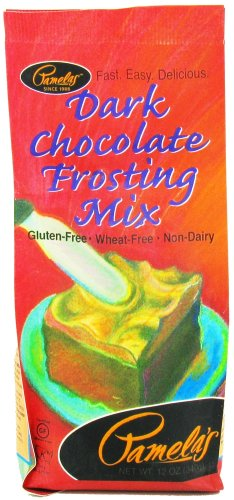 Pamela's Products - Frosting Mix Gluten Free Dark Chocolate