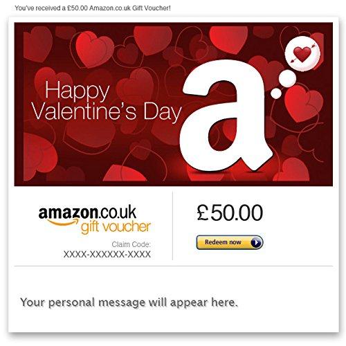Valentine's Day - E-mail Amazon.co.uk Gift Voucher