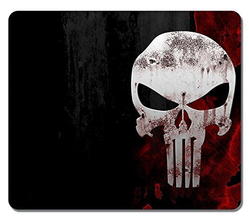Customized Textured Surface Water Resistent Large Mousepad The Punisher Skull Fashion Designs Non-Slip Best Large Gaming Pad Mouse Pads